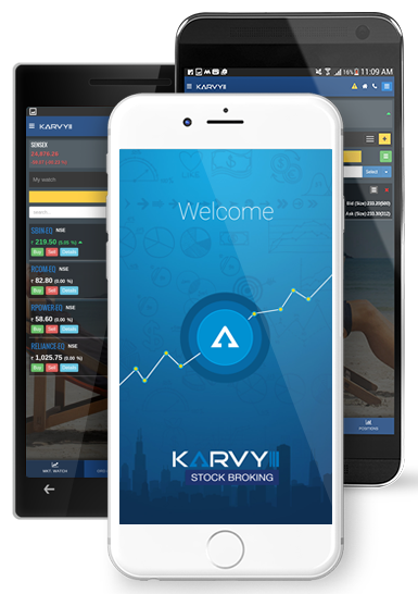 Karvy mobile trading application download
